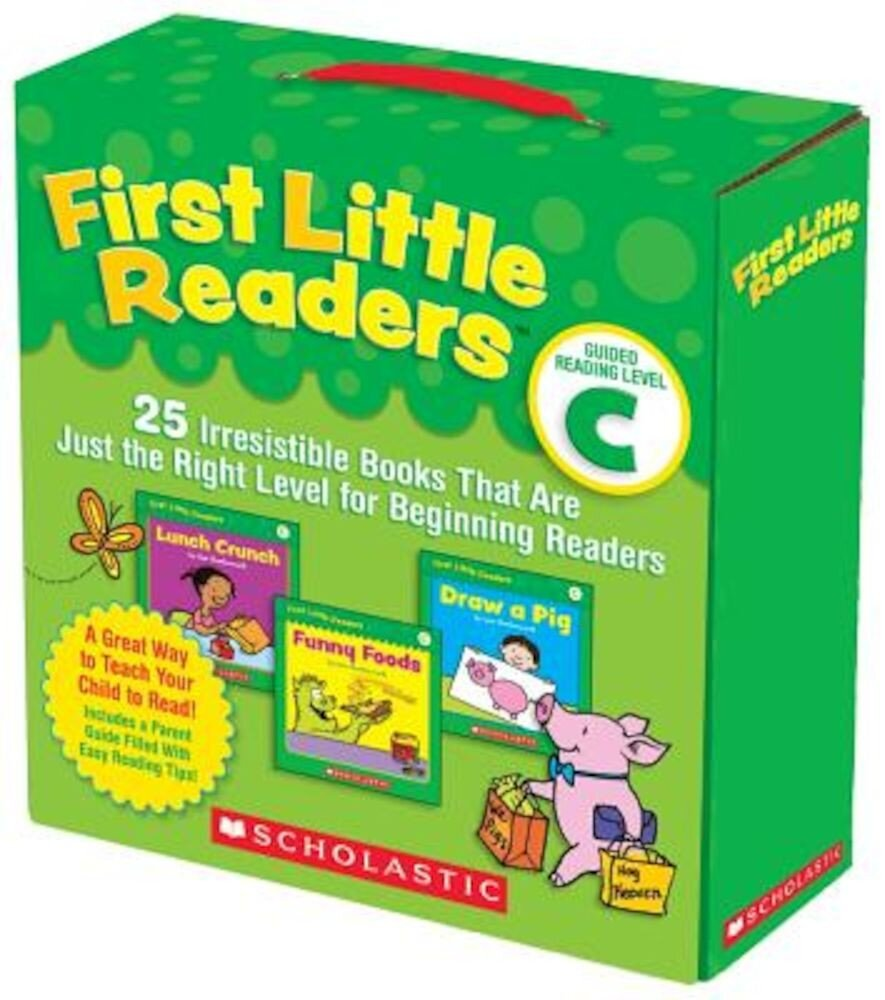 First Little Readers: Guided Reading, Level C: 25 Irresistible Books That Are Just the Right Level for Beginning Readers, Paperback