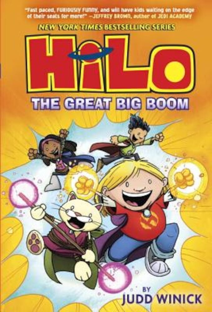 Hilo Book 3: The Great Big Boom, Hardcover