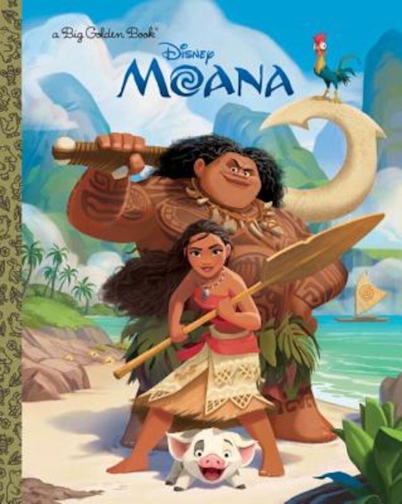 Moana Big Golden Book, Hardcover