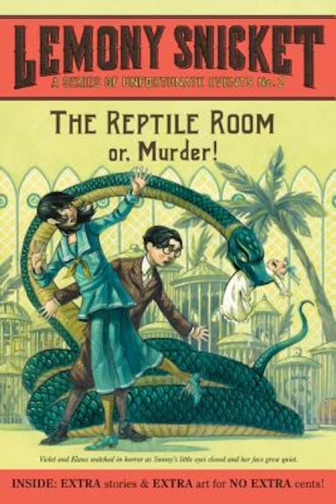 The Reptile Room: or, Murder!, Paperback