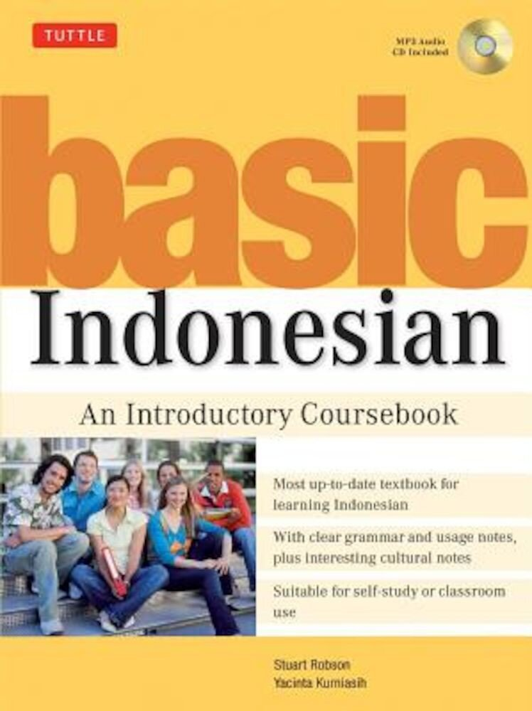 Basic Indonesian: An Introductory Coursebook [With MP3], Paperback