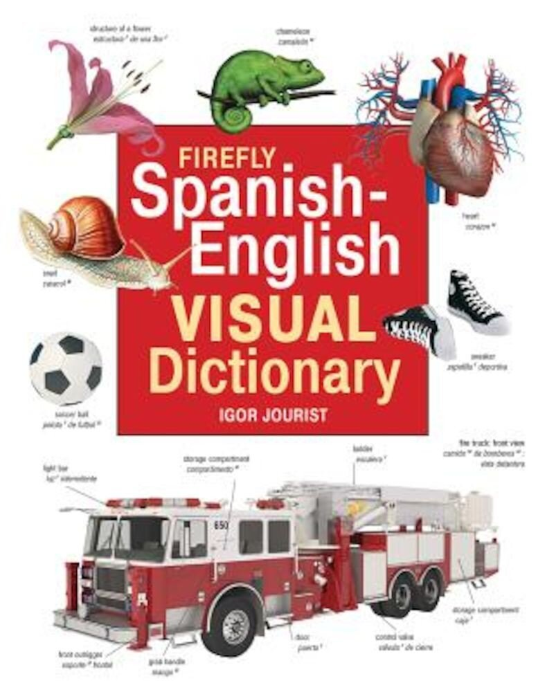 Firefly Spanish-English Visual Dictionary, Hardcover