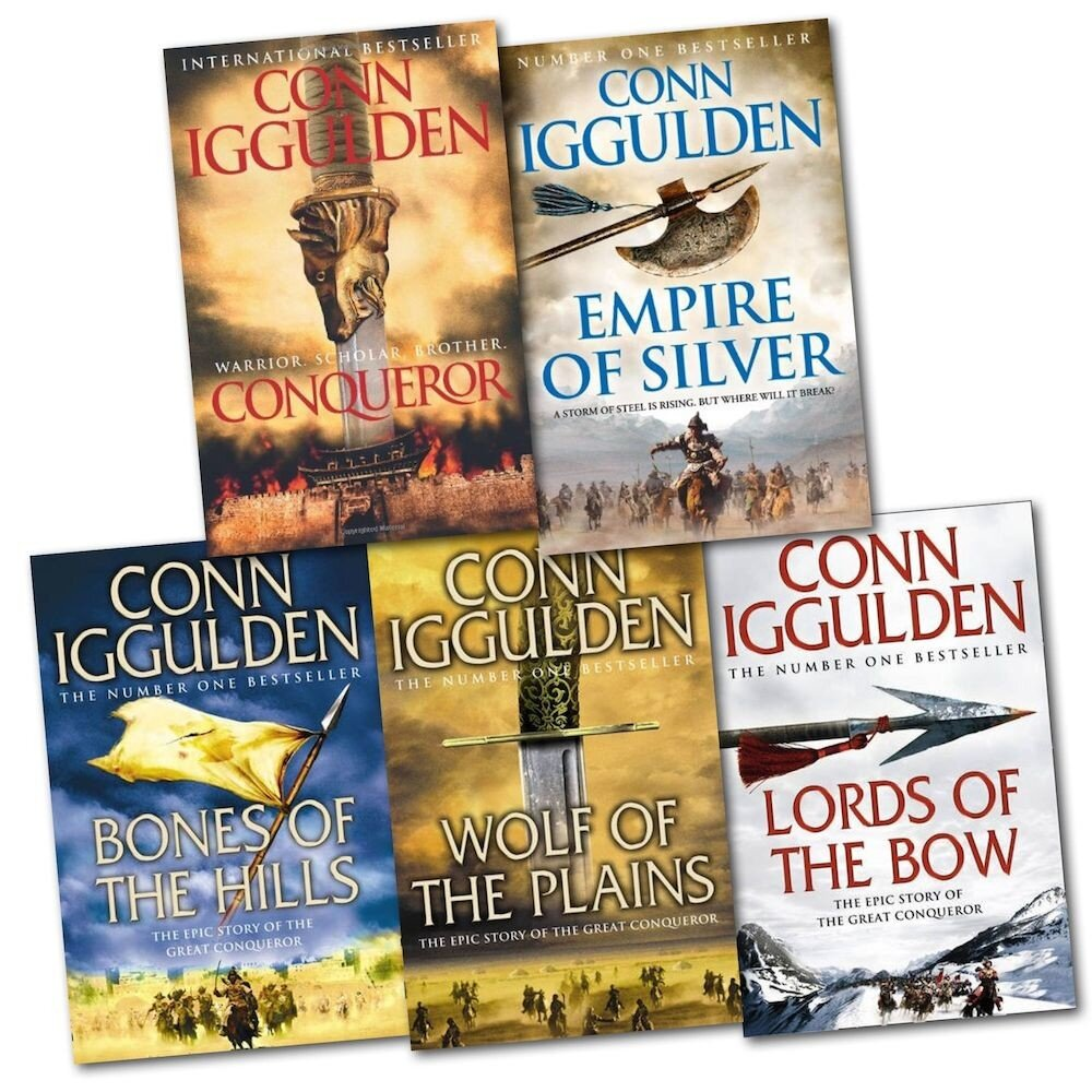 Conqueror Series 5 Books Collection Pack