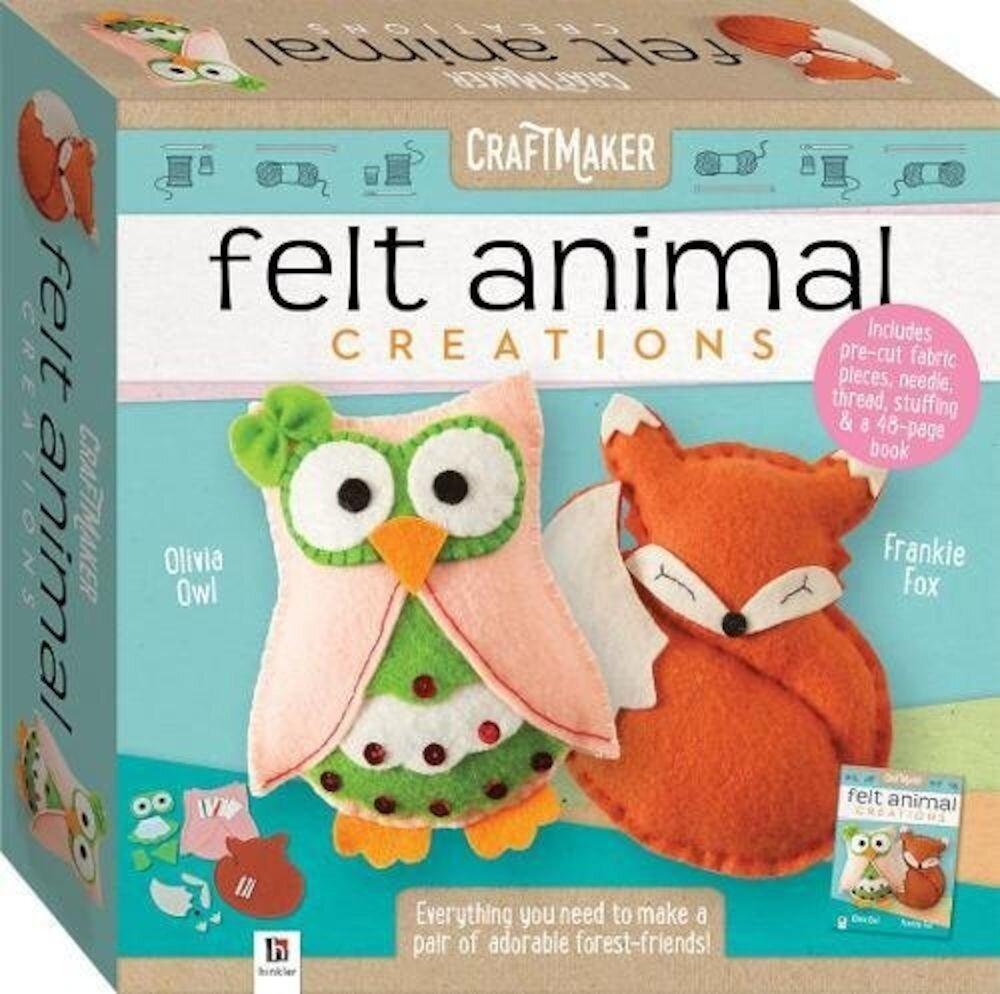 CraftMaker Felt Animals Creations (tuck box)