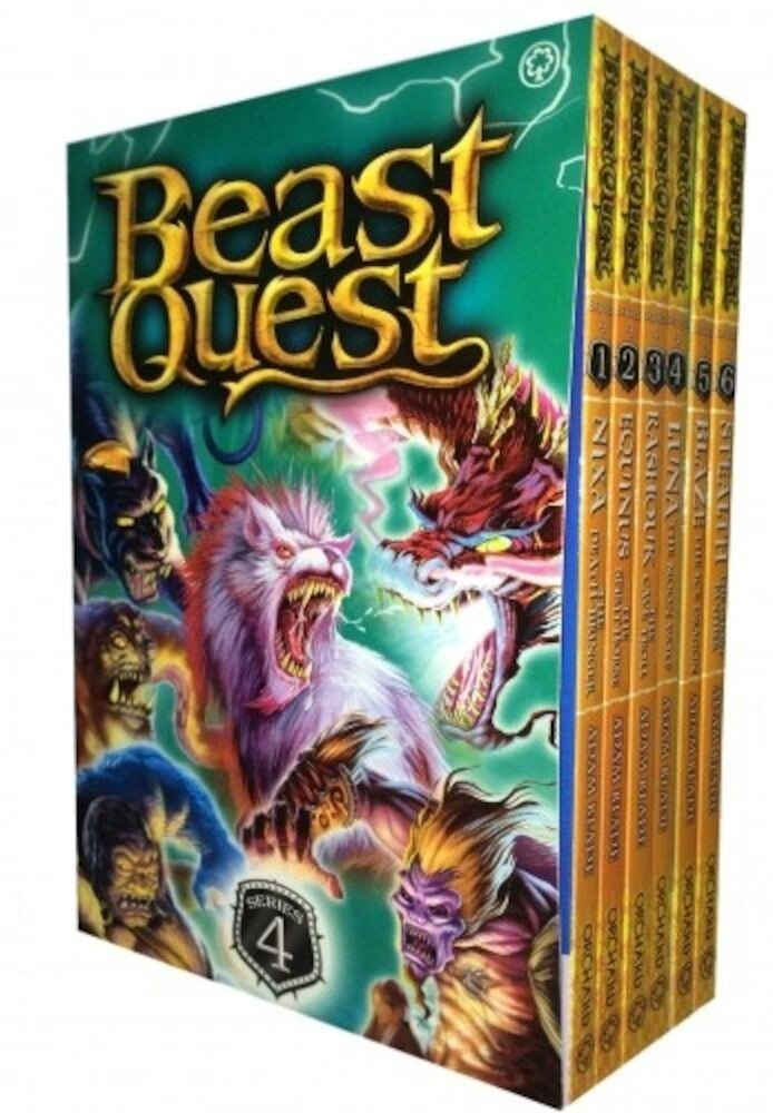 Beast Quest Series 4 - 6 Books Collection