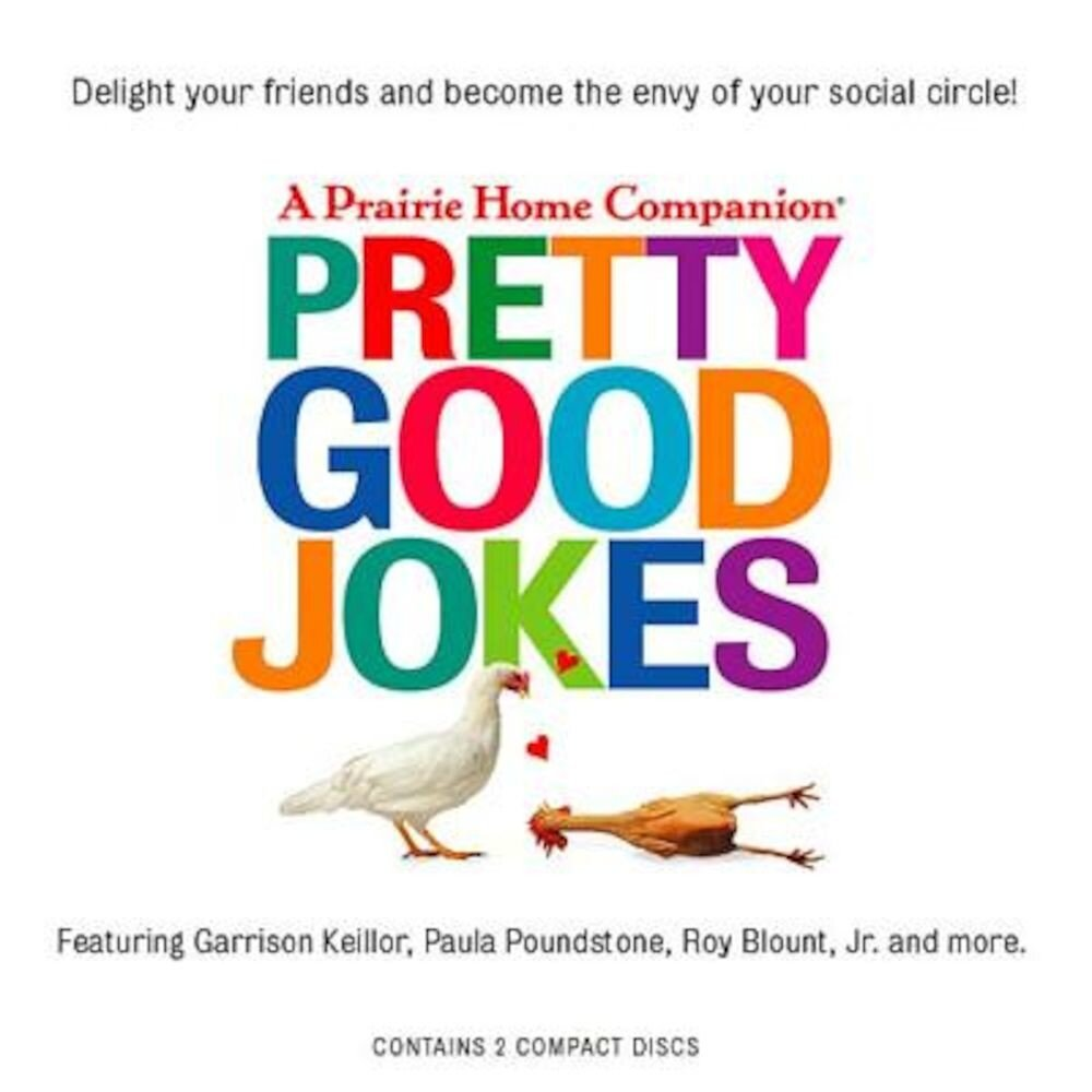 Coperta Carte Pretty Good Jokes, Audiobook