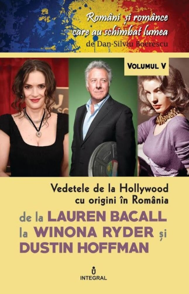 Coperta Carte Vedetele de la hollywood cu origini in Romania