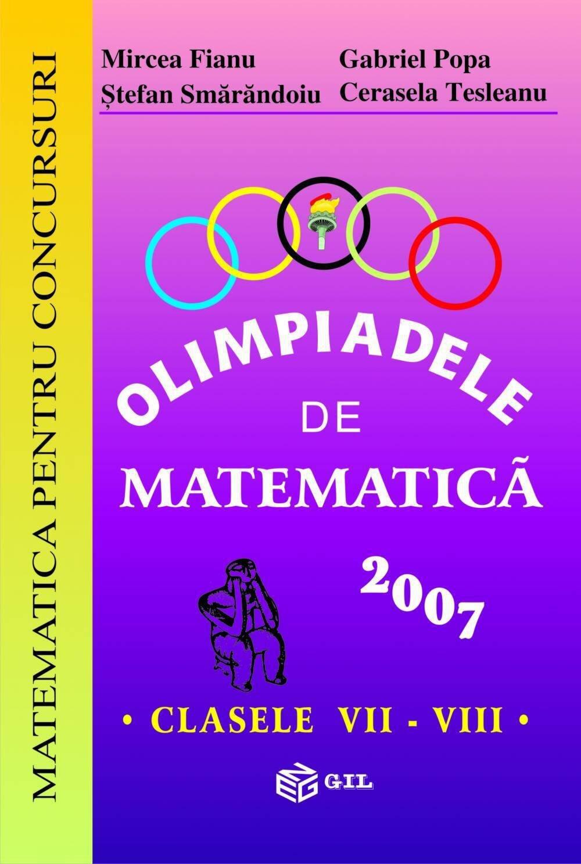 Olimpiade de Matematica VII-VIII 2007 (eBook)