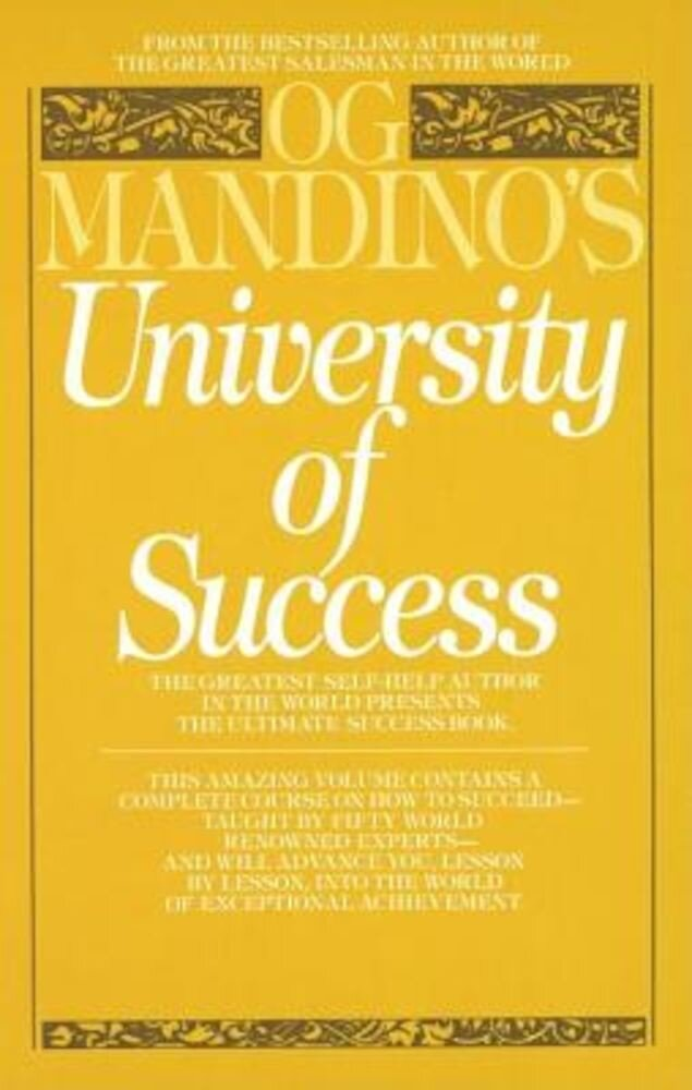 University of Success, Paperback