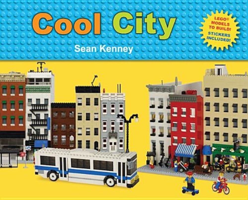 Cool City: Lego(tm) Models to Build - Stickers Included, Hardcover