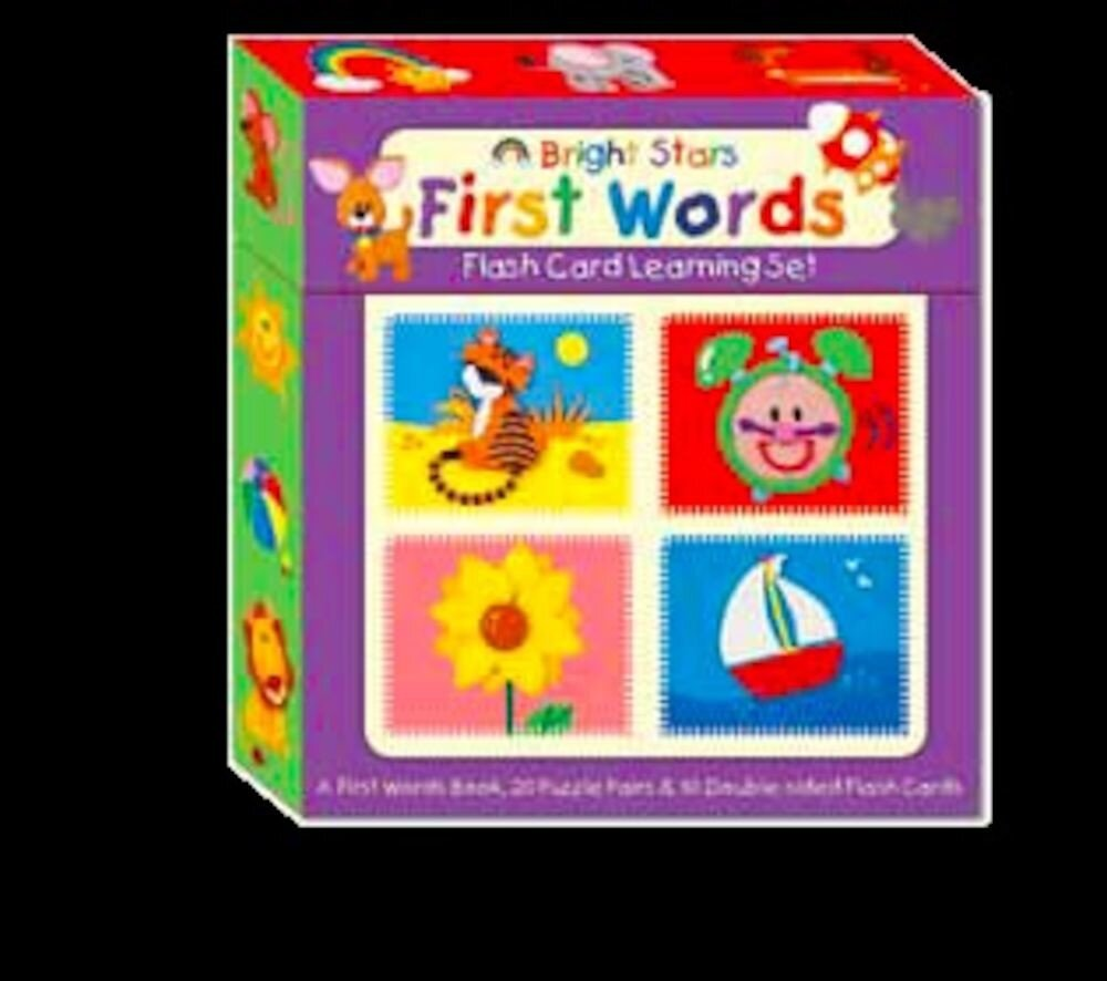 Flash card learning set - first words (eva) (ctn qty 12)