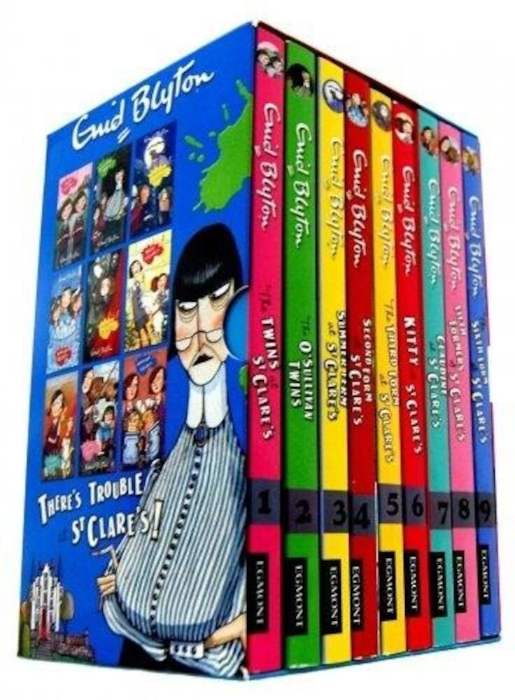 St Clare's Box Set, 9 Book Collection - Enid Blyton
