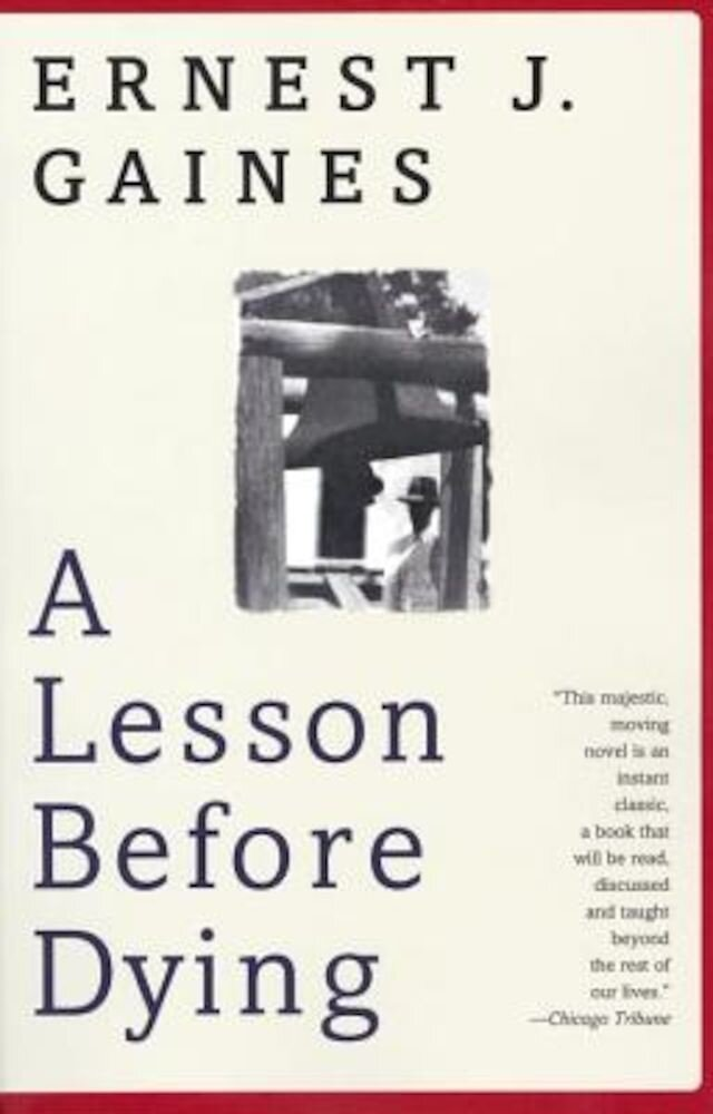 A Lesson Before Dying, Paperback