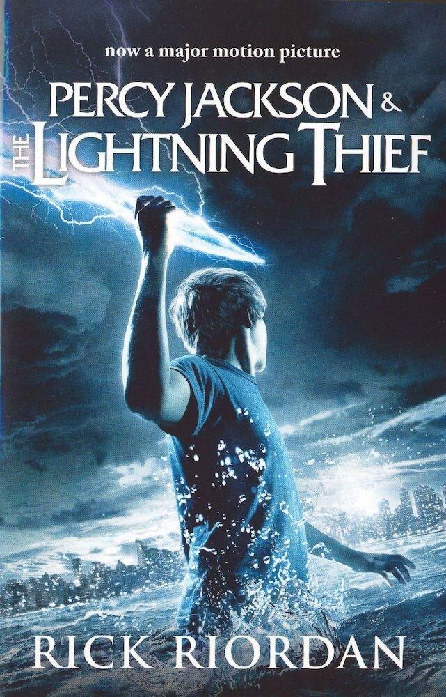 Coperta Carte Percy Jackson and the Lightning Thief