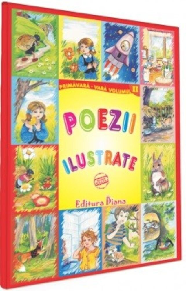 Poezii ilustrate - Vol II - Primavara - Vara