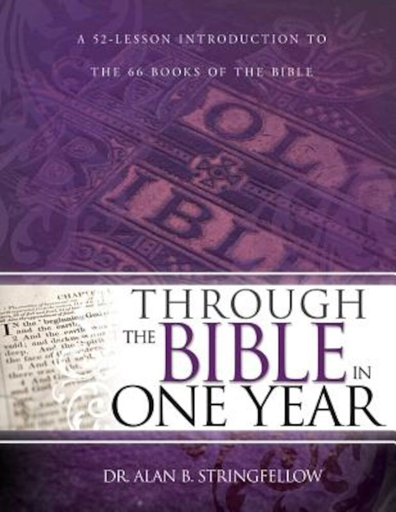 Through the Bible in One Year, Paperback
