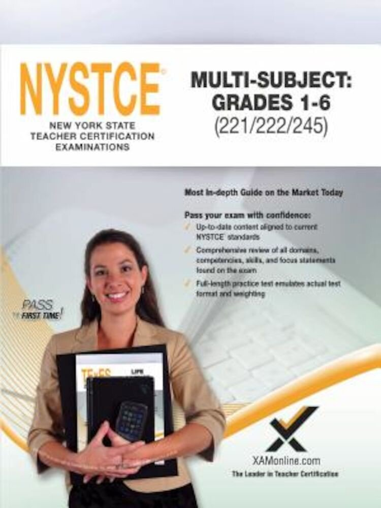 2017 NYSTCE Multi-Subject: Teachers of Childhood (Grades 1-6) (221/222/245), Paperback