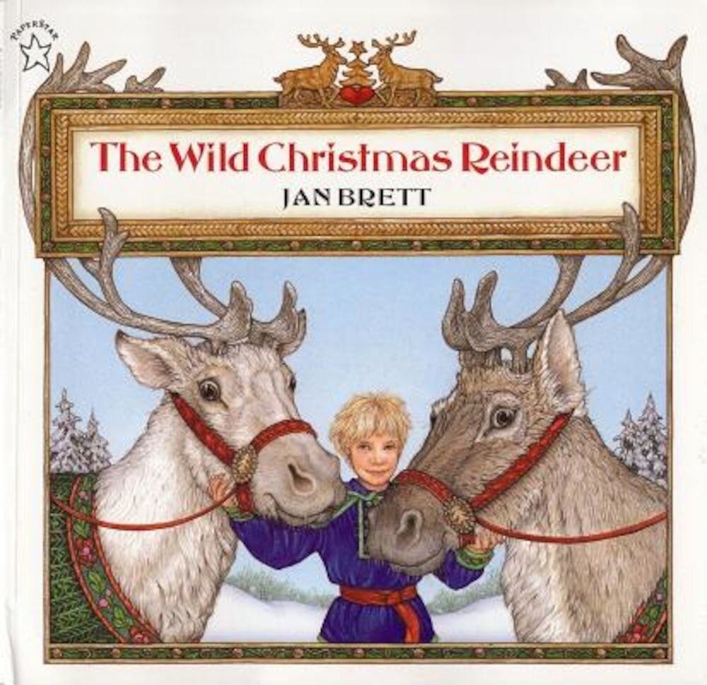 The Wild Christmas Reindeer, Paperback