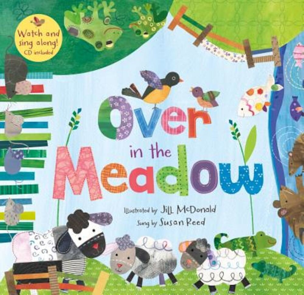 Over in the Meadow [With CDROM], Paperback