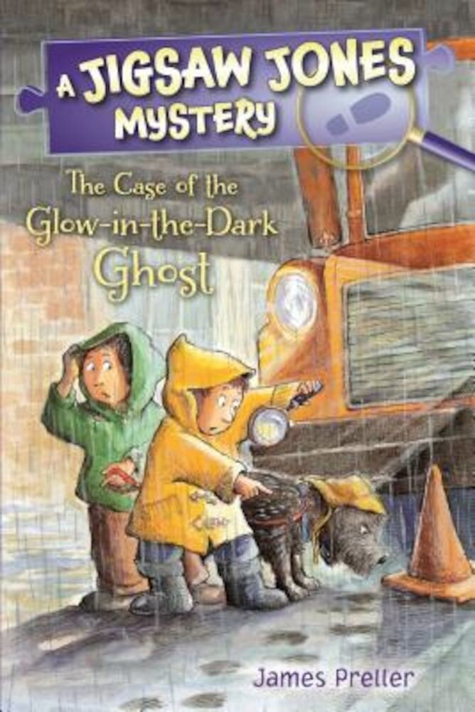 Jigsaw Jones: The Case of the Glow-In-The-Dark Ghost, Paperback