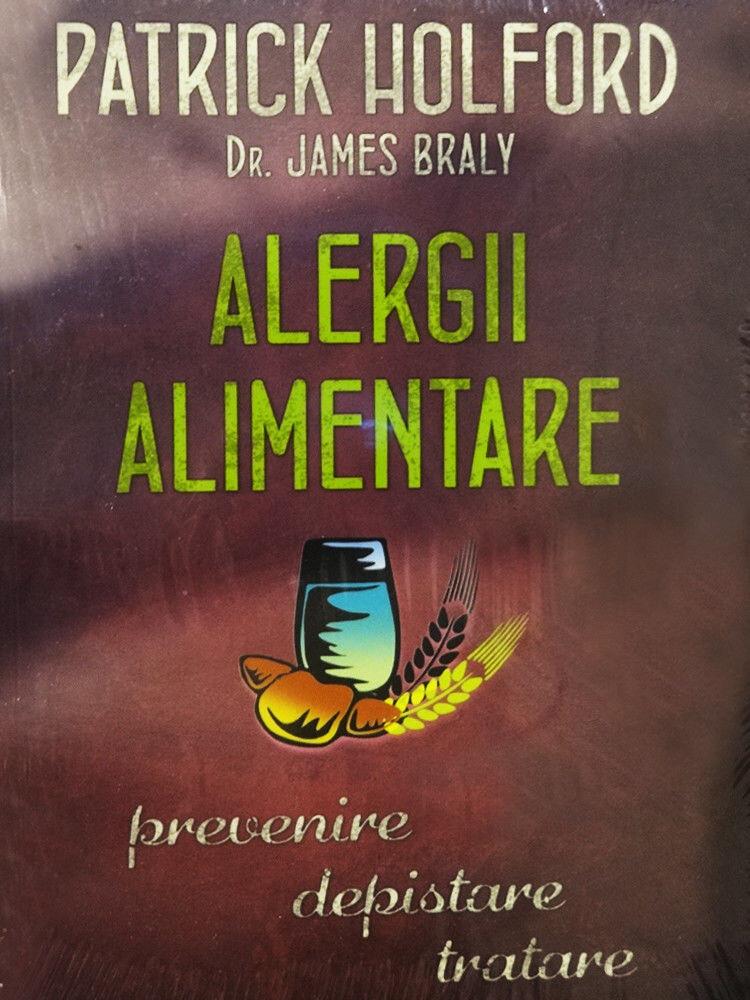 Coperta Carte Alergii alimentare - prevenire, depistare, tratare