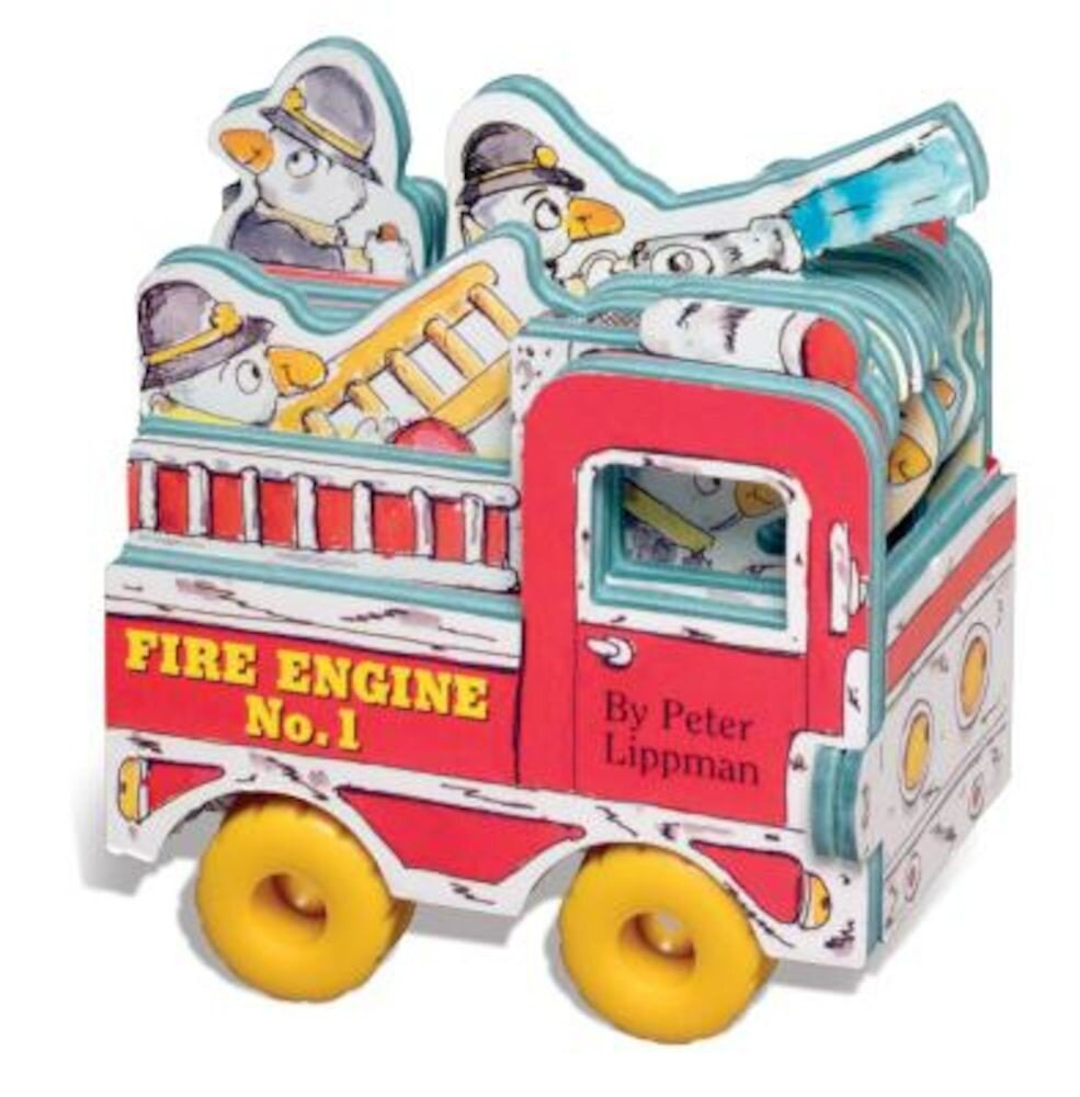 Fire Engine No. 1 [With Wheels], Hardcover