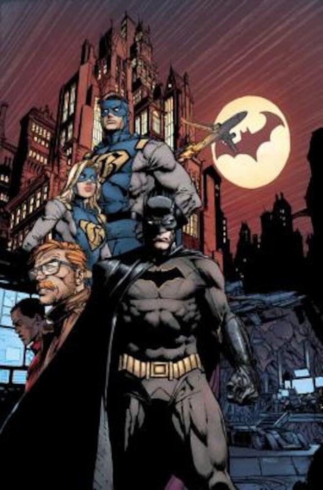 Batman: The Rebirth Deluxe Edition Book 1 (Rebirth), Hardcover
