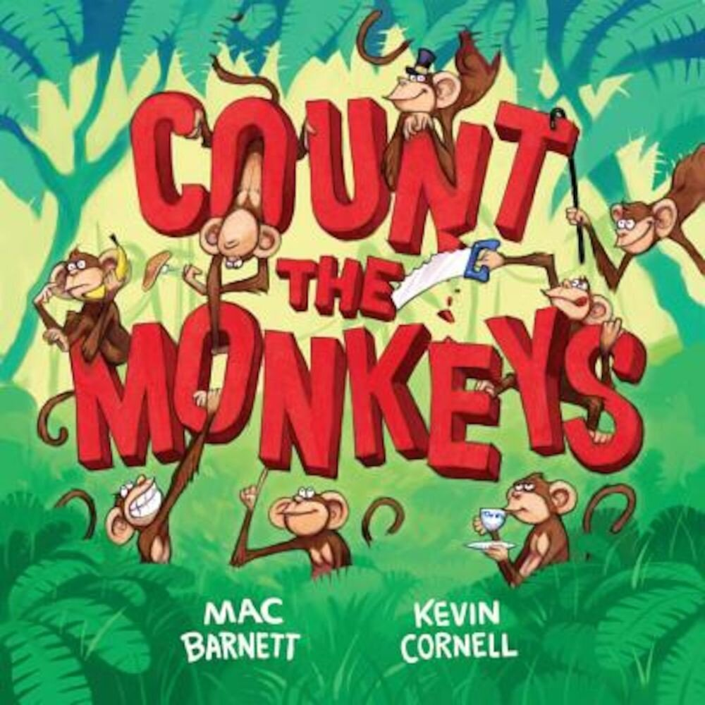 Count the Monkeys, Hardcover