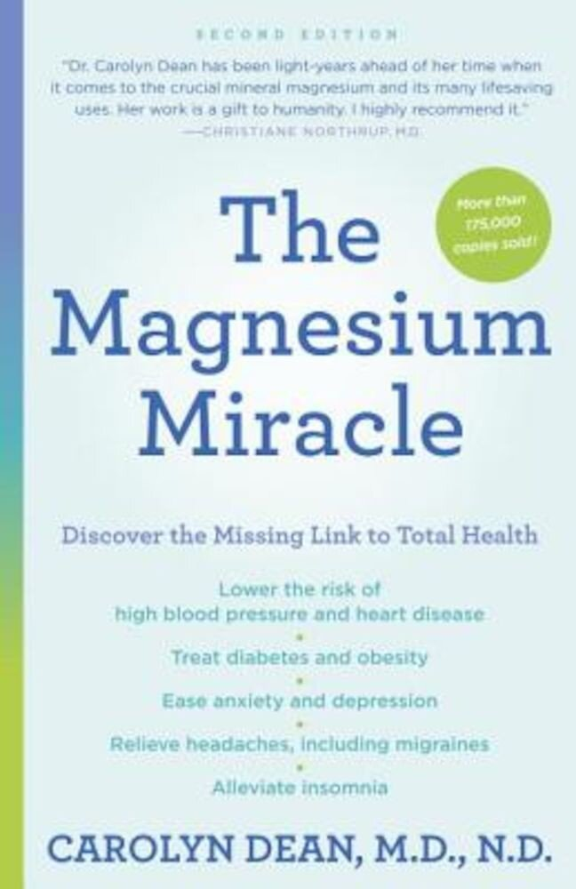 The Magnesium Miracle (Second Edition), Paperback