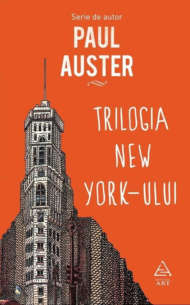 Coperta Carte Trilogia New York-ului