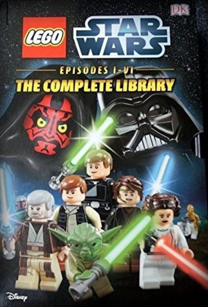 Star Wars Episodes I-VI The Complete Library 6 Book Box Set