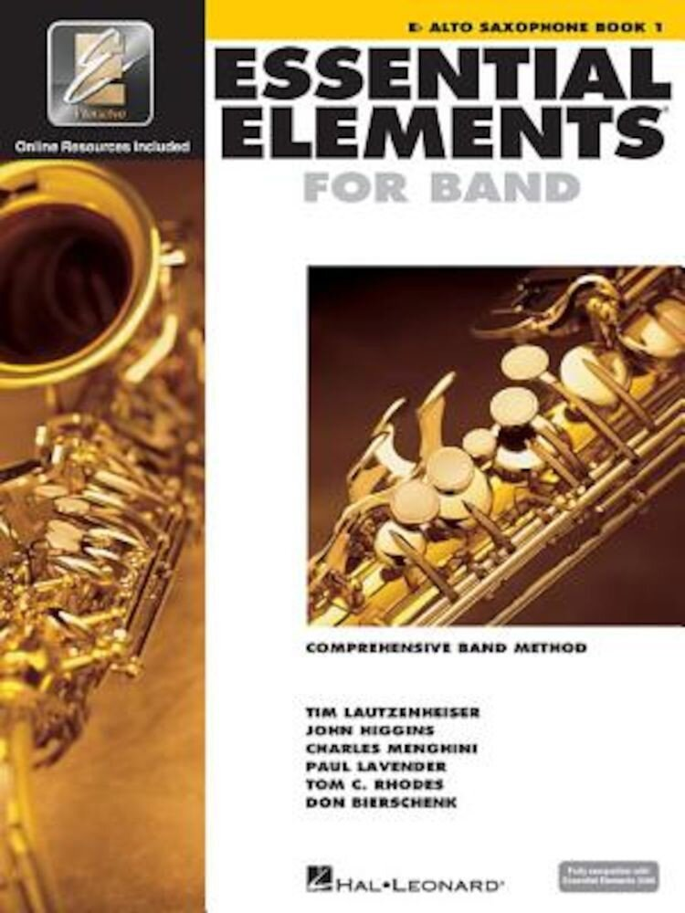 Essential Elements for Band - Eb Alto Saxophone Book 1 with Eei, Paperback