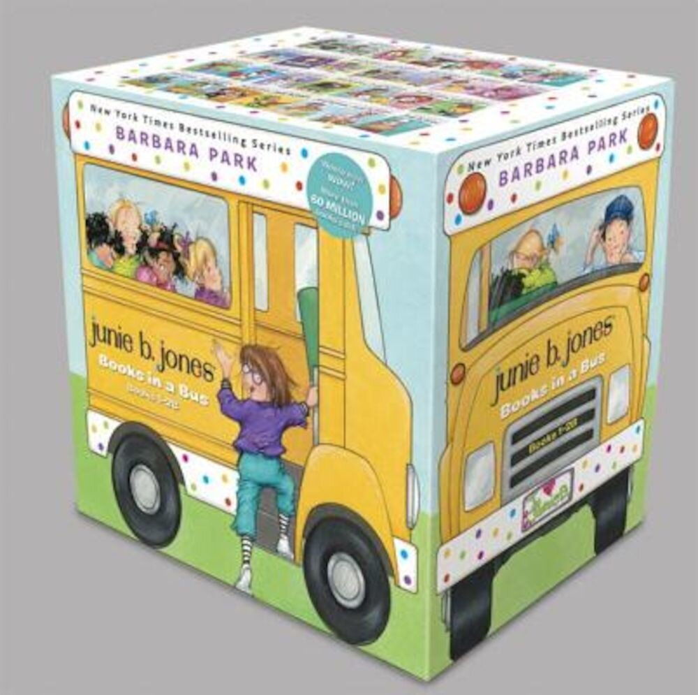 Junie B. Jones Books in a Bus (Books 1-28), Paperback