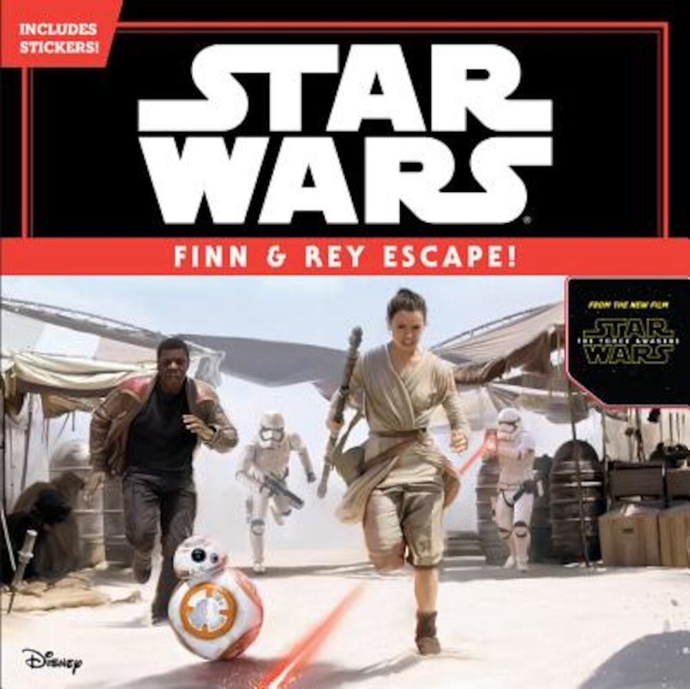 Star Wars the Force Awakens: Finn & Rey Escape! (Includes Stickers!): Includes Stickers!, Paperback