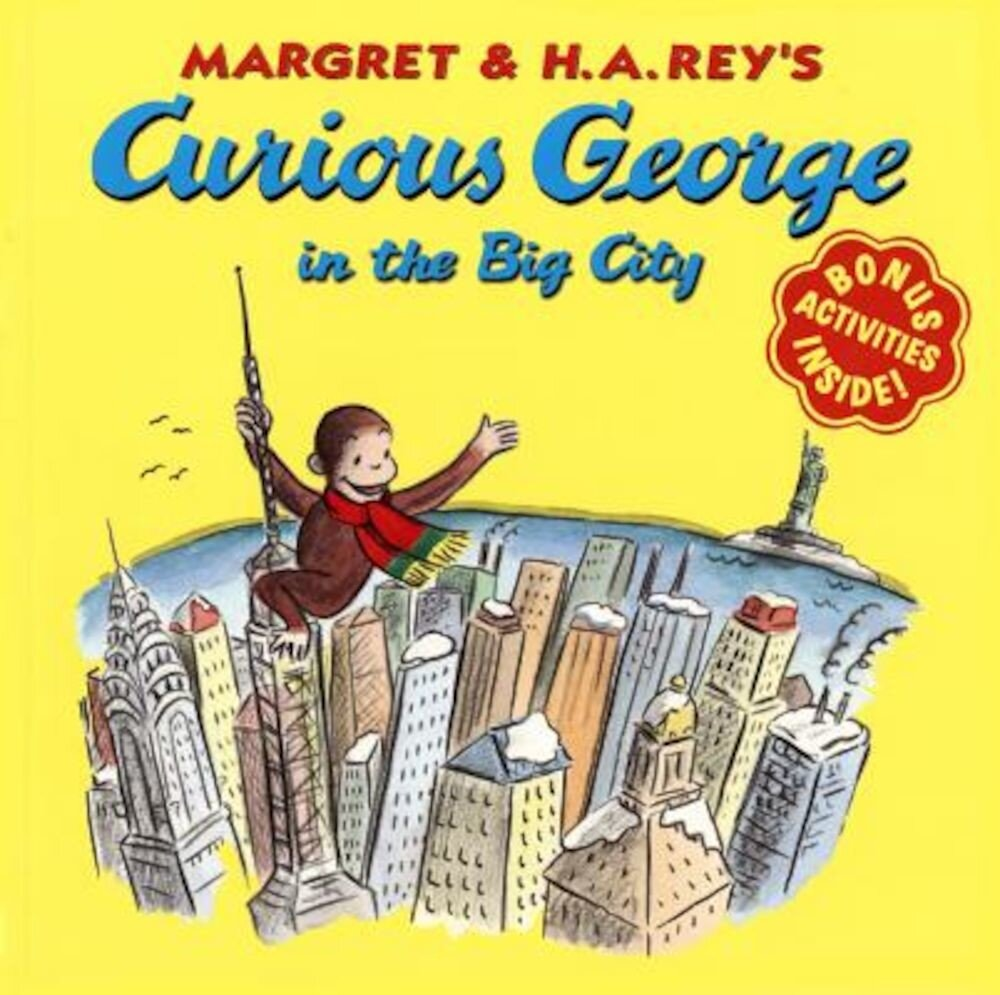 Curious George in the Big City, Paperback