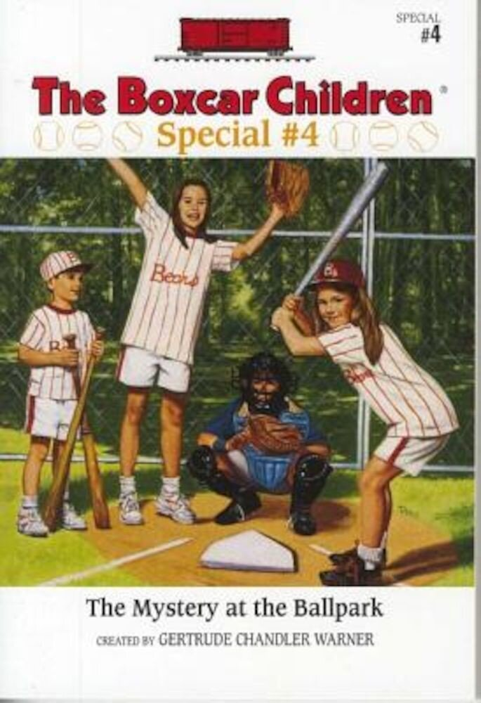 The Mystery at the Ballpark, Paperback