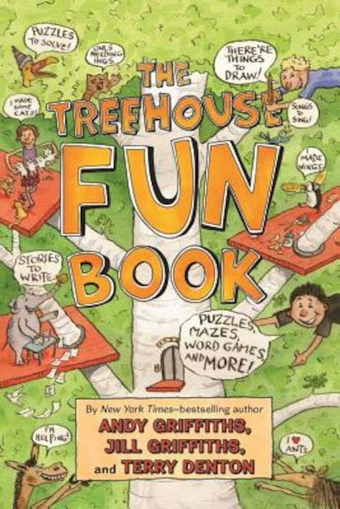 The Treehouse Fun Book, Paperback