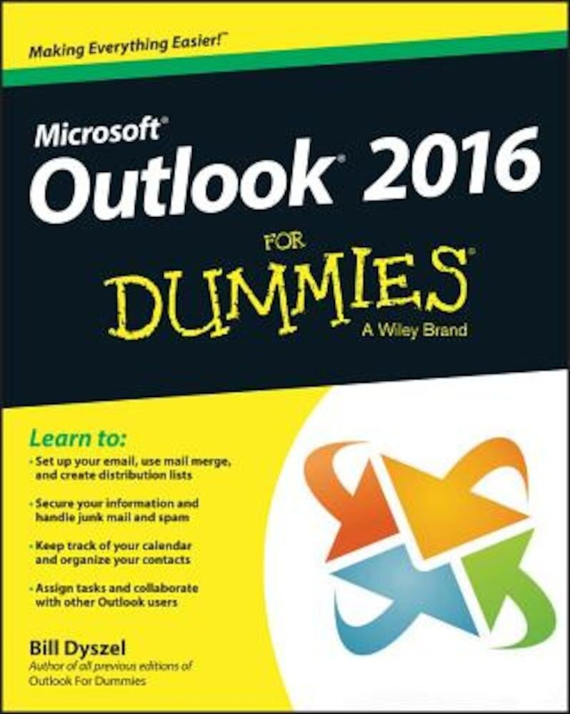Outlook 2016 for Dummies, Paperback