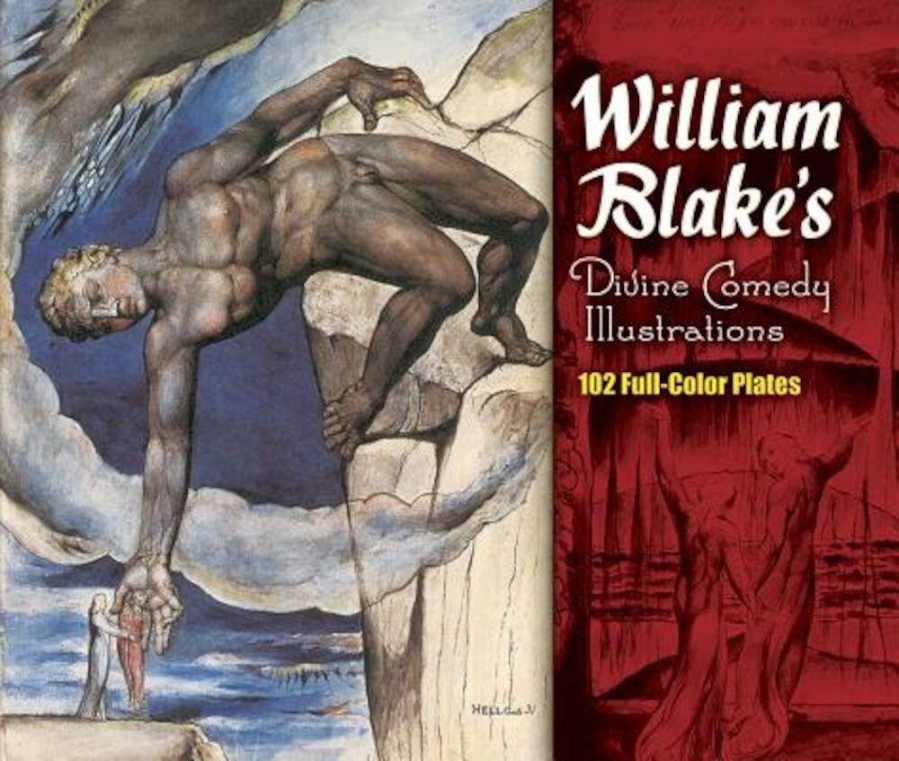 William Blake's Divine Comedy Illustrations, Paperback