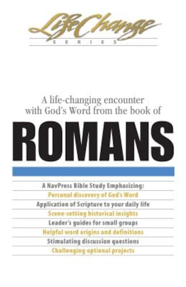 Romans: Encouragement for Your Lifetime Journey, Paperback