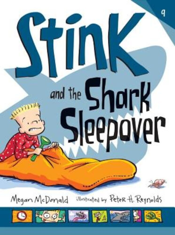 Stink and the Shark Sleepover, Hardcover