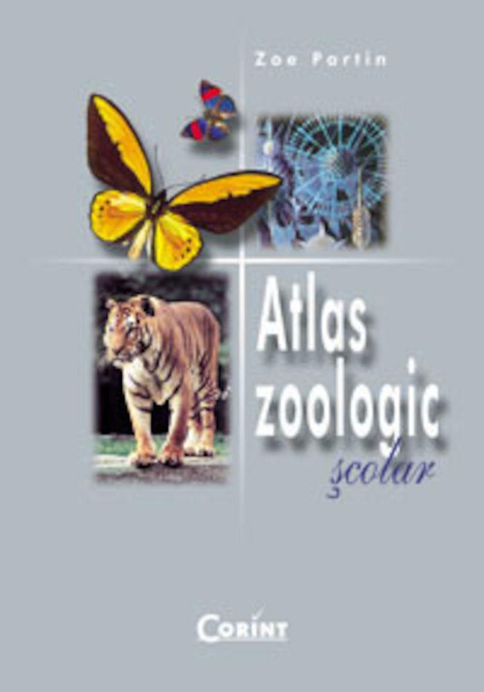 Coperta Carte Atlas Zoologic Scolar