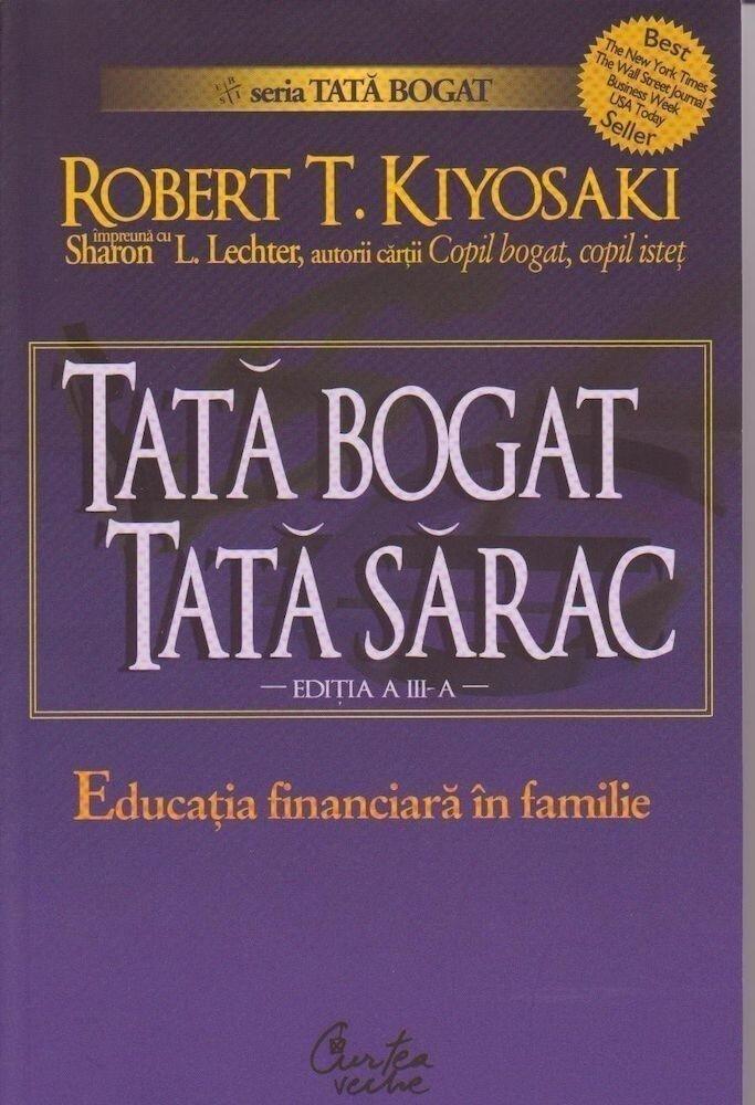 Coperta Carte Tata bogat, tata sarac. Educatia financiara in familie