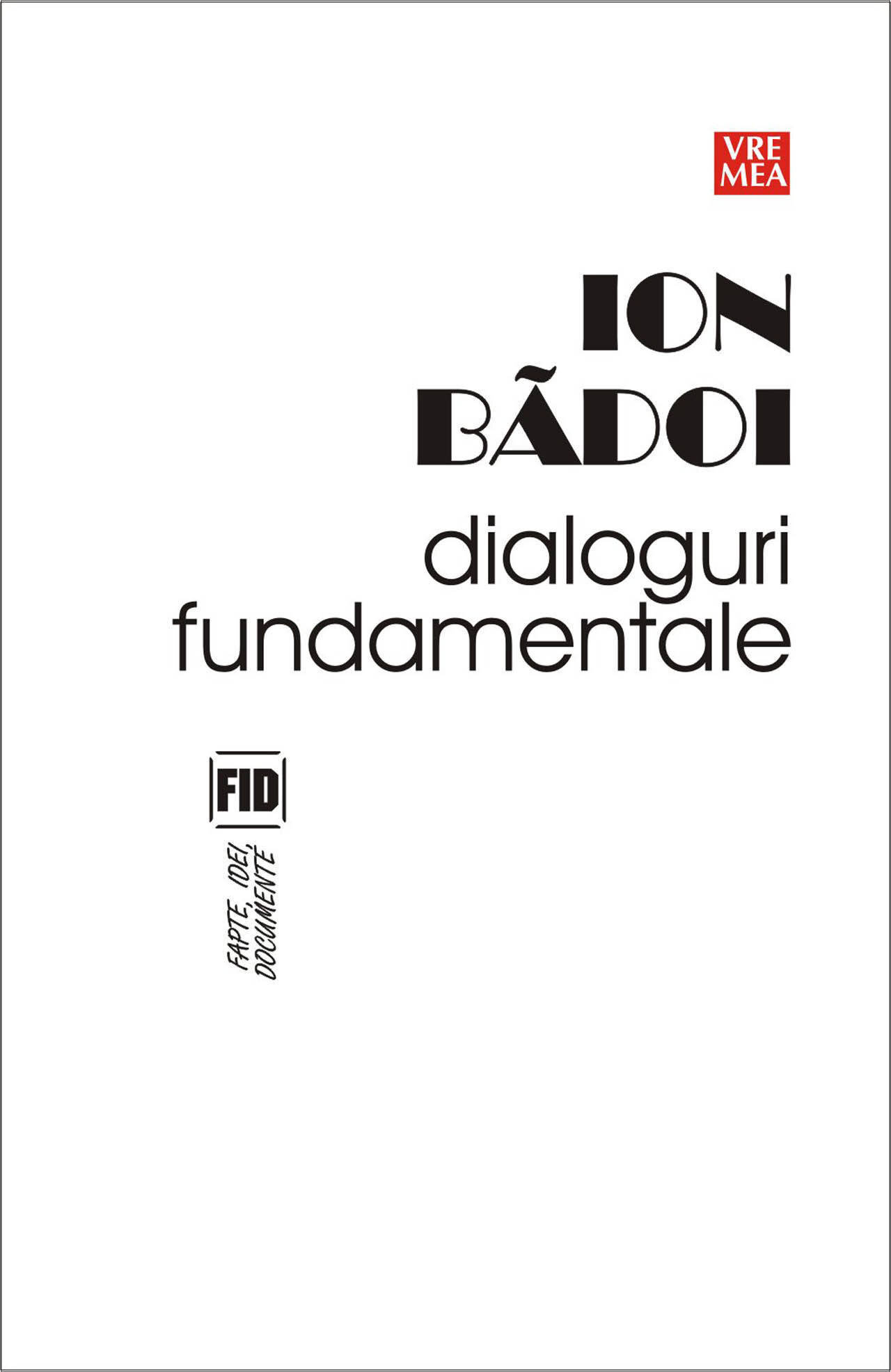 Dialoguri fundamentale (eBook)