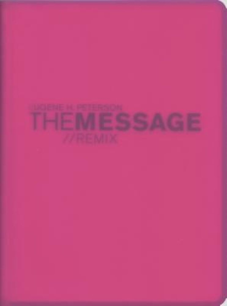 Message Remix 2.0 Bible-MS-Numbered Hypercolor, Hardcover