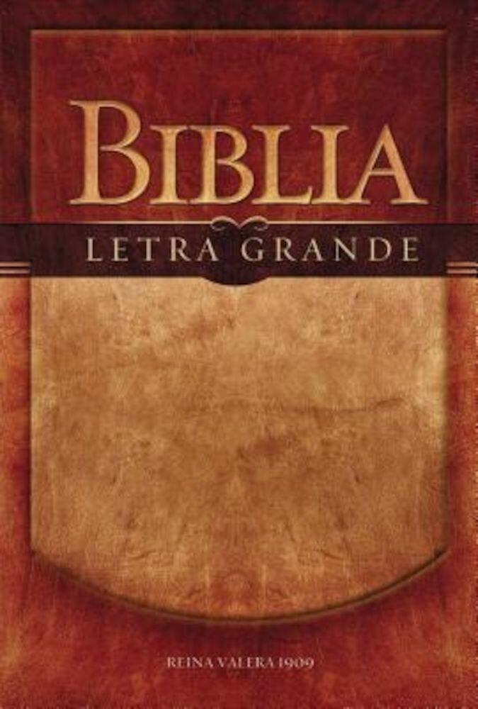 Biblia Letra Grande-RV 1909, Paperback