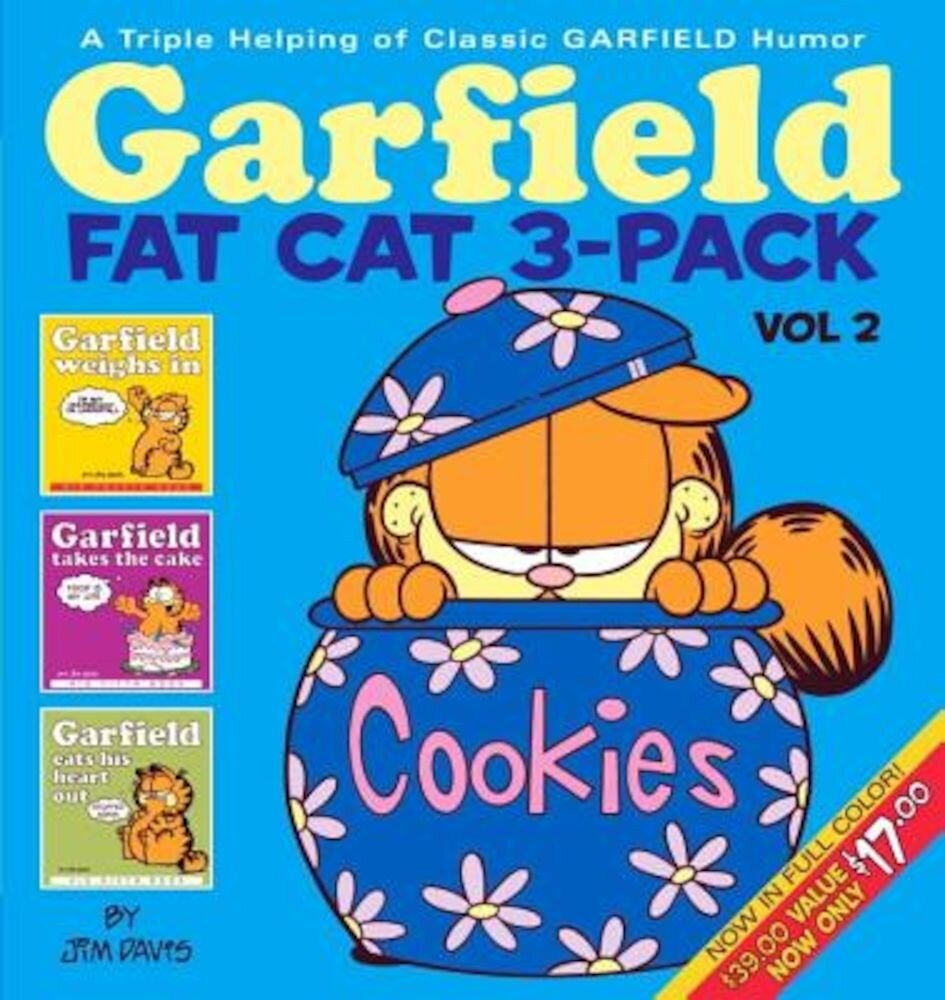 Garfield Fat Cat 3-Pack #2: A Triple Helping of Classic Garfield Humor, Paperback