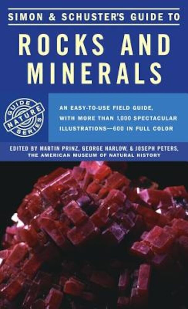Simon & Schuster's Guide to Rocks and Minerals, Paperback