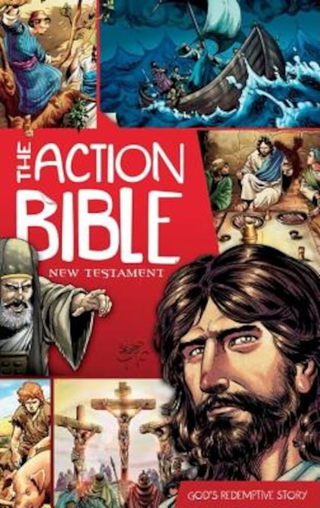 The Action Bible: New Testament: God's Redemptive Story, Paperback