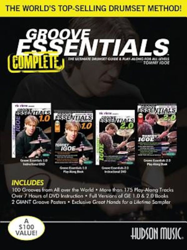Tommy Igoe - Groove Essentials 1.0/2.0 Complete: Includes 2 Books, 2 Posters and Online Audio and Video, Paperback